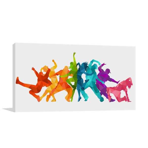 Expressive Dance People Canvas Prints