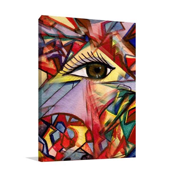 Eye Aperture Canvas Prints