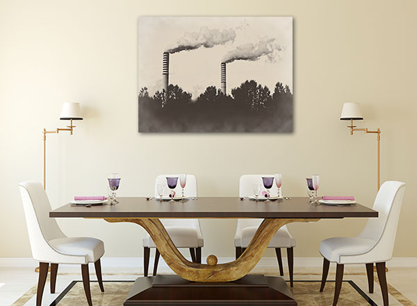 Factory Plant Artwork