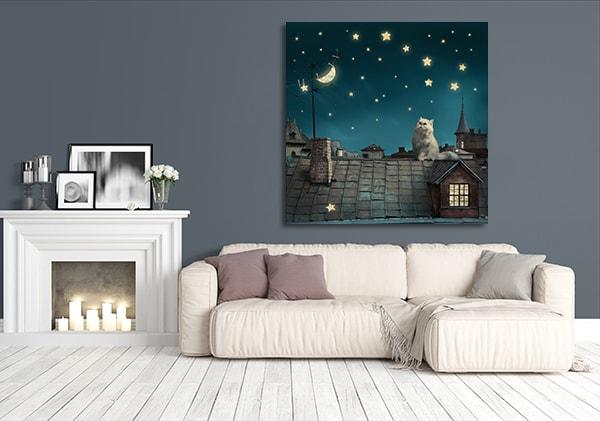 Fairytale Dreams Prints Canvas