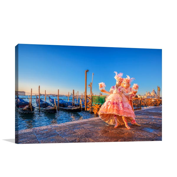 Famous Carnival Venice Wall Art