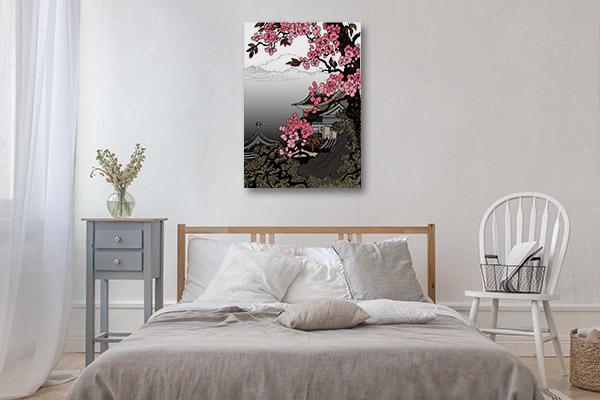 Famous Cherry Blossom Print Artwork