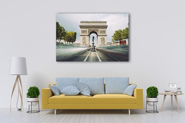 Famous Landmark in Paris Canvas Prints