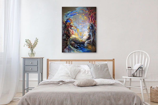 Fantastic Mermaid Prints Canvas