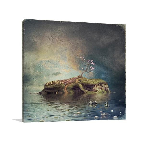 Fantasy Rock Prints Canvas