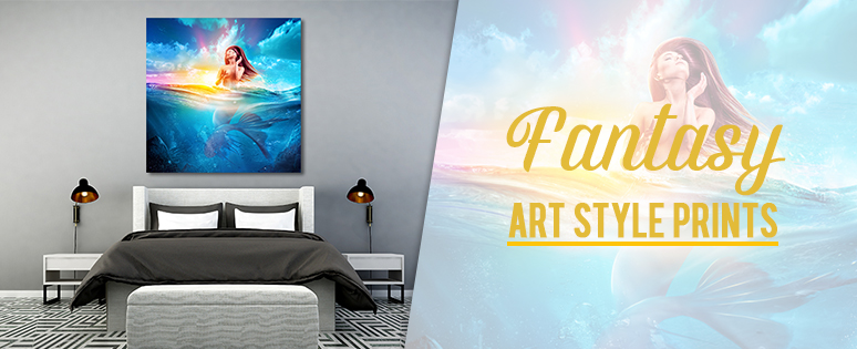 Fantasy Art Style Prints For Interior Design