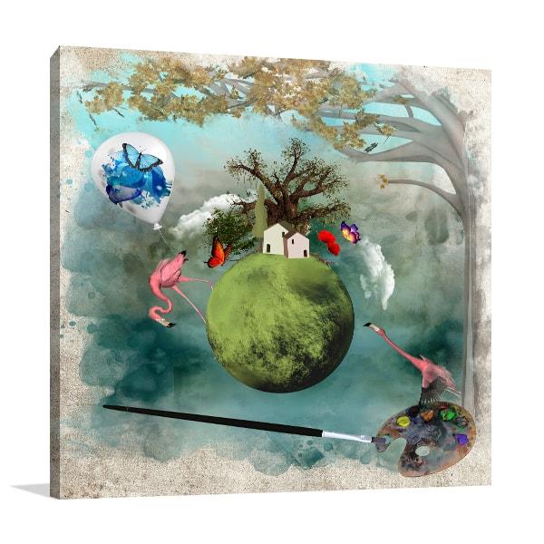 Fantasy World Art Prints
