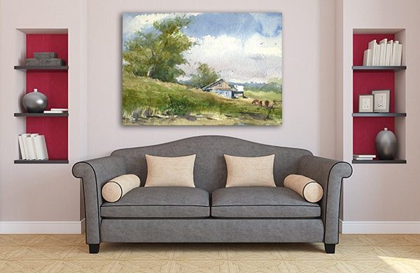Farm House Wall Art