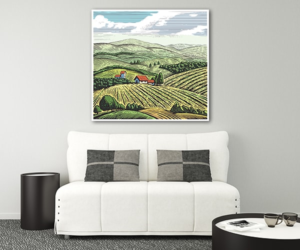 Farmland Artwork