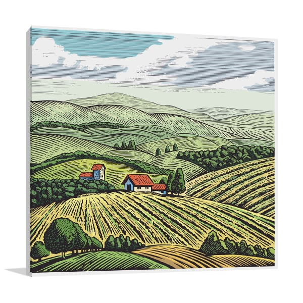 Farmland Print Artwork