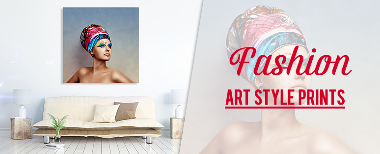 Fashion Art Style Prints In Living Room Decors