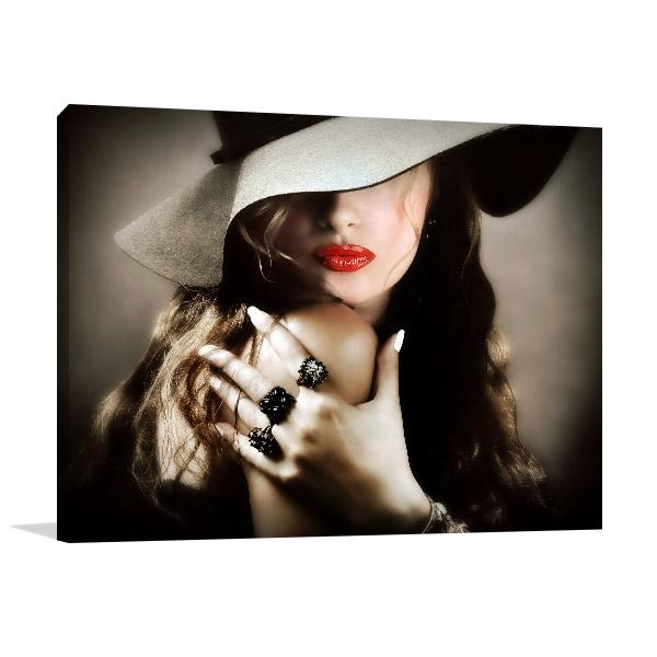 Fashioned Jewelry Canvas Prints