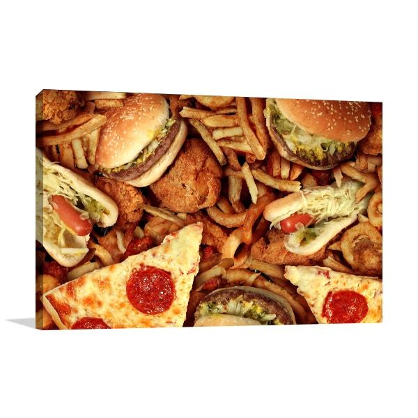 Fast Foods Wall Art