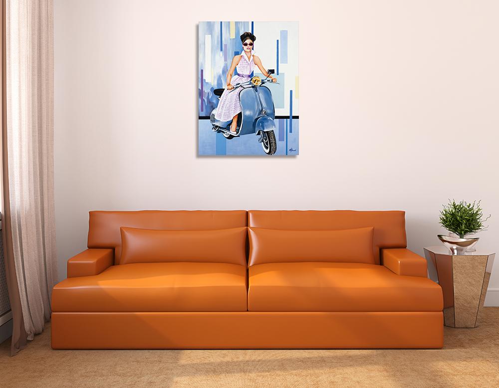 Portrait Canvas Wall Art Print