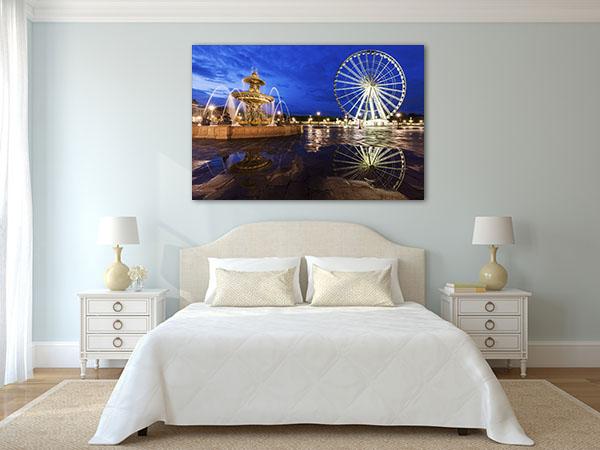 Ferris Wheel on Place de la Concorde Art Prints