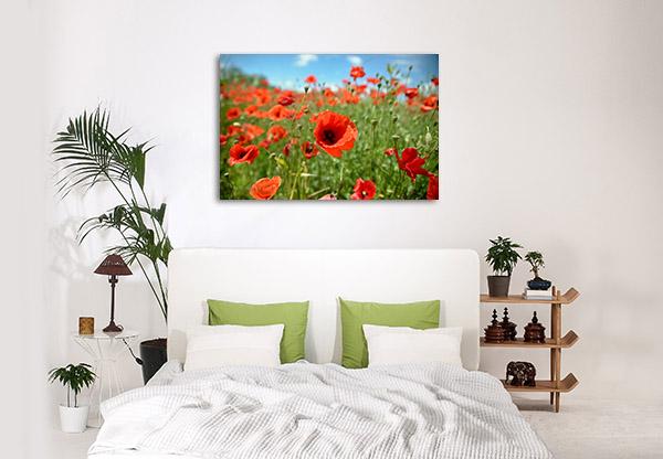 Field Of Poppies Print Artwork