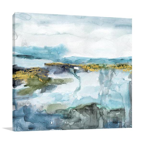 Field of Topaz Canvas Print | Carol Robinson