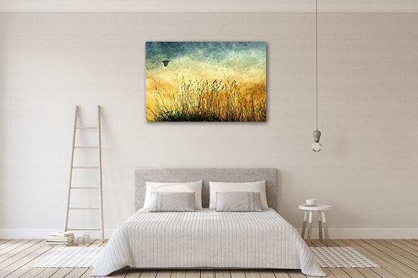 Fields Vintage Canvas Prints