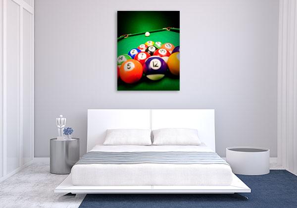 Fifteen Billiard Spheres Prints Canvas
