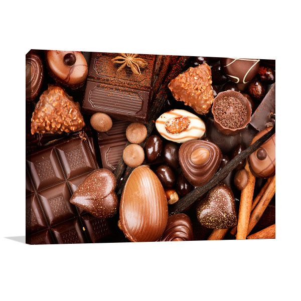 Fine Chocolates Canvas Art Prints