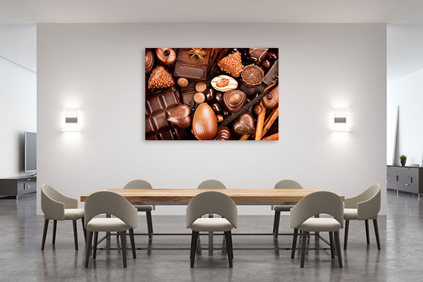 Fine Chocolates Prints Canvas