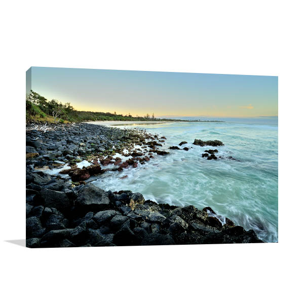 Fingal Head Wall Art Print NSW Landscape Picture Canvas
