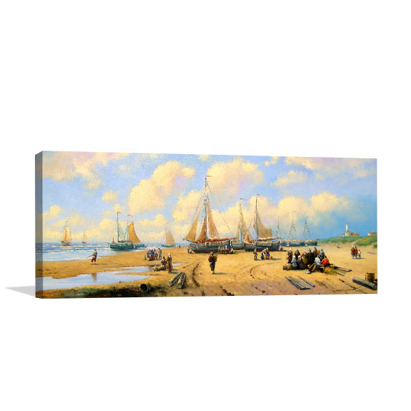 Fishermans and Boats Wall Art