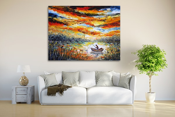Fishing Prints Canvas