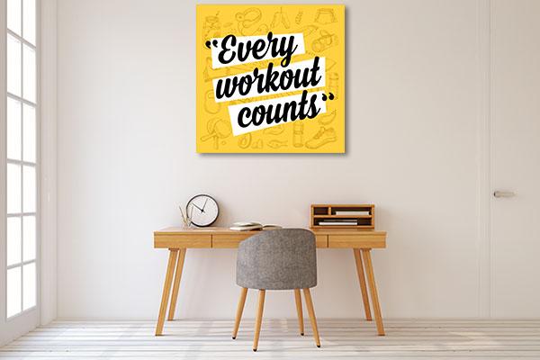 Fitness Motivation Art Prints