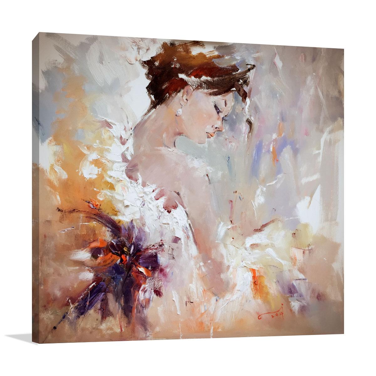 Australia Print on Canvas | Flamenco II Painting | Li Zhou Artist