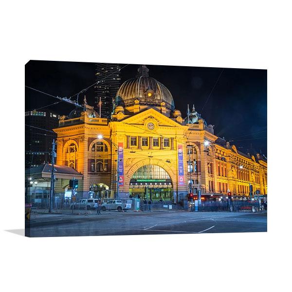 Flinders Station Melbourne Print