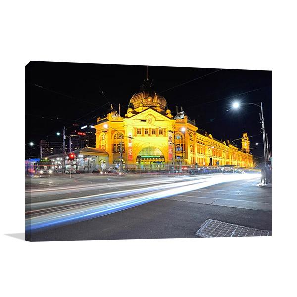Flinders Street Melbourne Australia