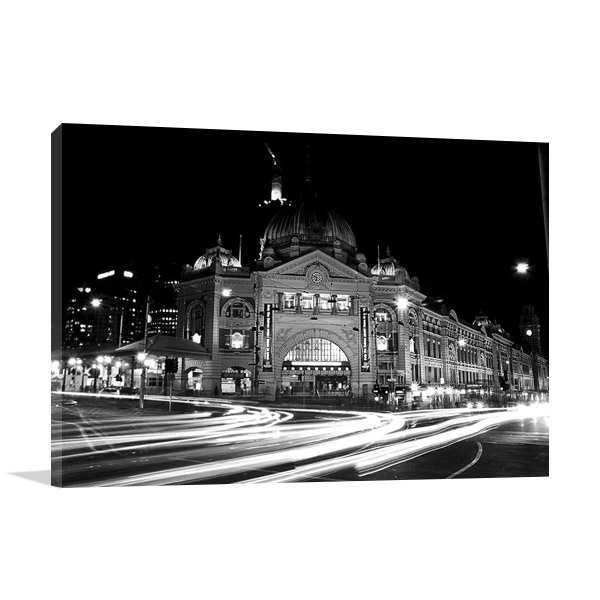 Flinders Street Station Melbourne Print