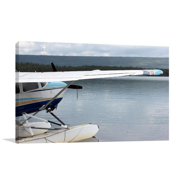 Floatplane In Alaska Artwork