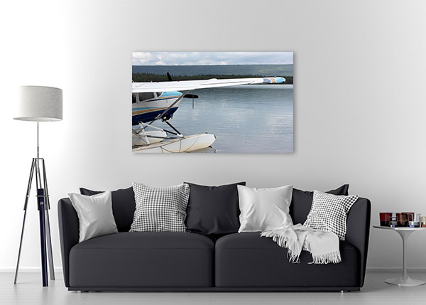 Floatplane In Alaska Canvas Art Prints