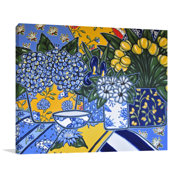 Brooke Howie | Floral 1 Print on Canvas