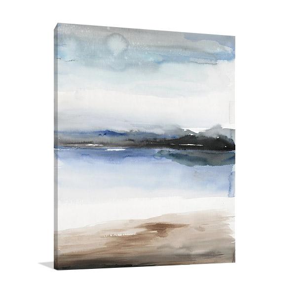 Flow I Print on Canvas