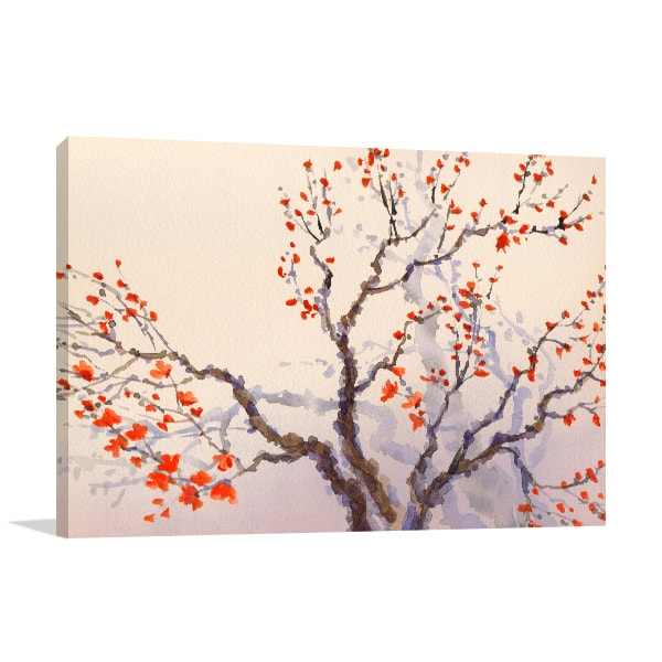 Flower Buds Wall Art