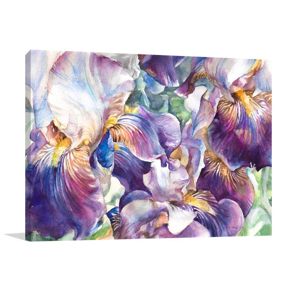 Flower Garden Canvas Prints