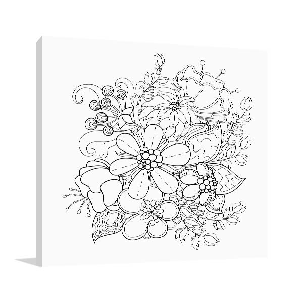Flower Vines Art Prints