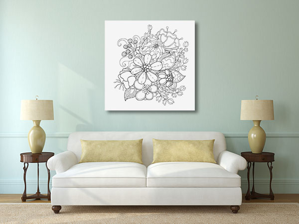 Flower Vines Artwork