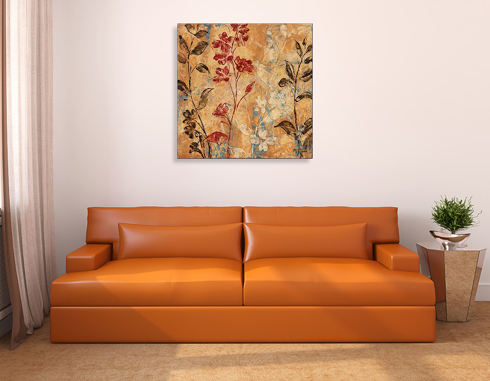 Botanical Floral Abstract Wall Art