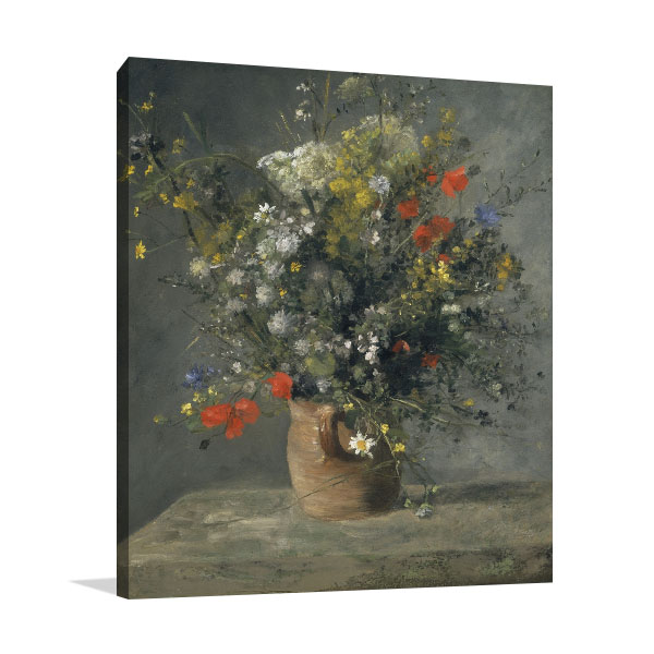 Flowers Impressionist Canvas Prints