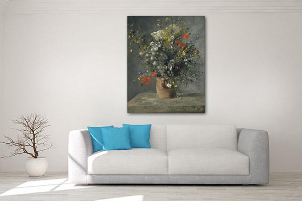 Flowers Impressionist Wall Art