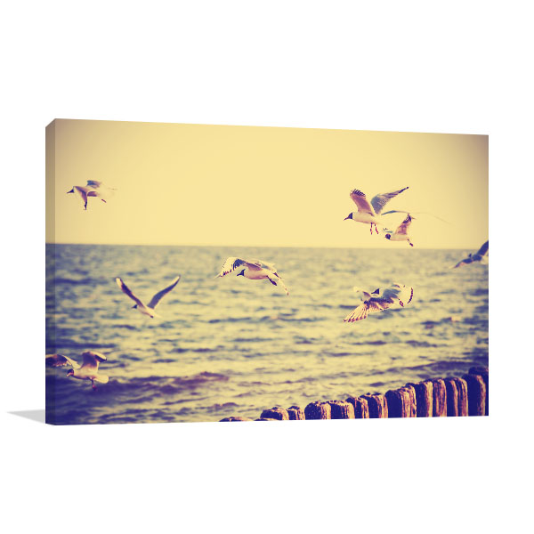 Flying Birds Prints Canvas