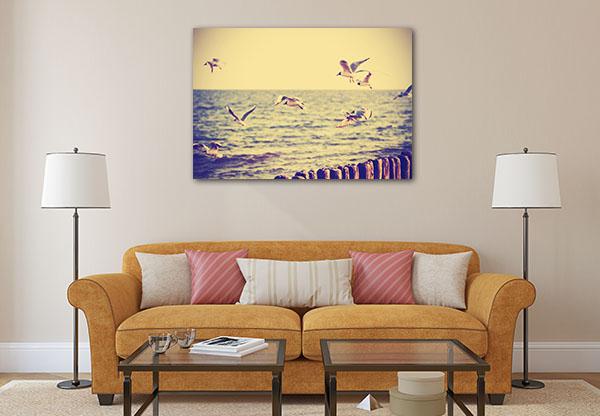 Flying Birds Canvas Art