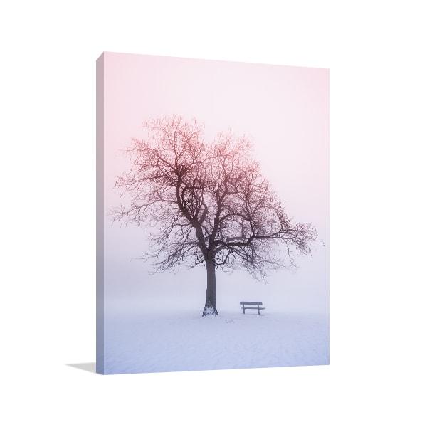 Foggy Winter Print Artwork