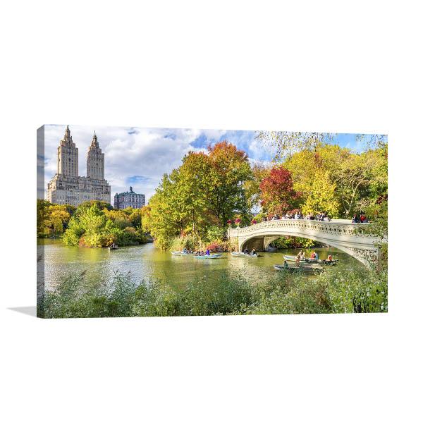 Foliage Colours Park Canvas Art