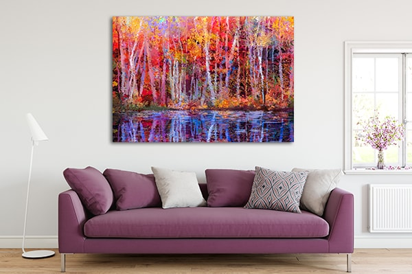 Forest Trees Artwork