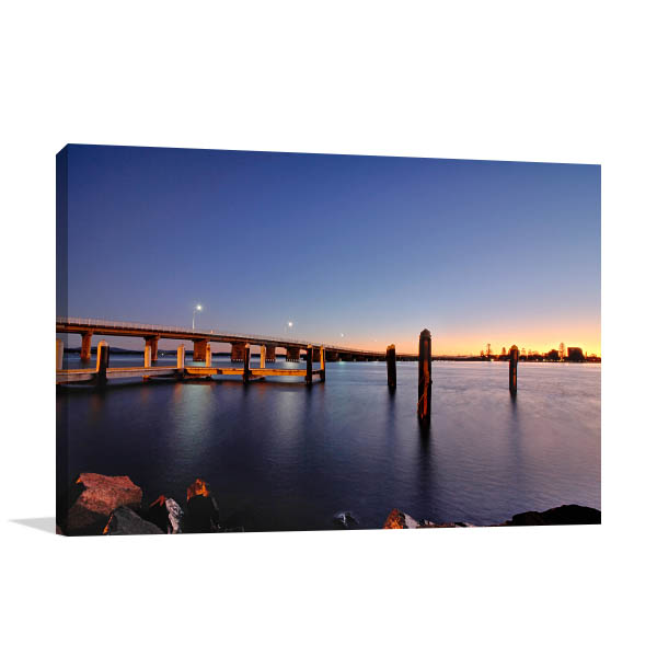 Forster Tuncurry Wall Art Print Bridge Artwork